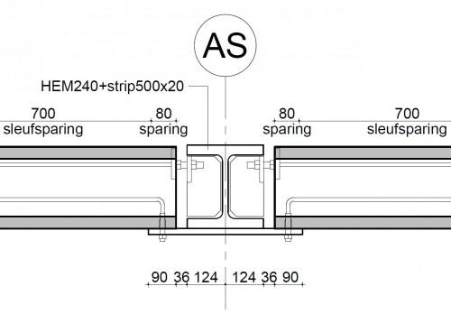 P1028 - kanaalplaat detail